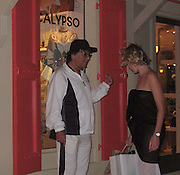 **EXCLUSIVE**.Robert Evans shopping in Gustavia.St. Barth, Caribbean.Tuesday, December, 30, 2003.Photo By Celebrityvibe.com/Photovibe.com...