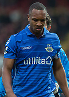 Football - 2016 / 2017 FA Cup - Third Round: Brentford vs. Eastleigh<br /> <br /> Gavin Hoyte of Eastleigh FC at Griffin Park.<br /> <br /> COLORSPORT/DANIEL BEARHAM