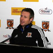 Hull City Press Conference 211211