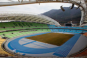 Daegu Stadium which will host the 2011 IAAF World Championships in Athletics. Daegu, also known as Taegu and officially the Daegu Metropolitan City, is the third largest metropolitan area in South Korea, and by city limits, the fourth largest city with over 2.5 million people. The IAAF World Championships in Athletics will take place in Daegu from the 27th of August till the 4th of September 2011.