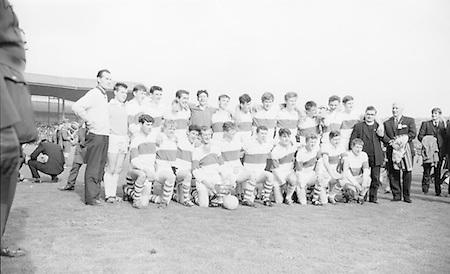 GAA All Ireland Minor Football Final Kerry v. Derry 26th September 1965 Croke Park.Derry Team..26.9.1965  26th September 1965