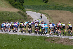 Cyclists during 1st Stage (164 km) at 19th Tour de Slovenie 2012, on June 14, 2012, in Celje, Slovenia. (Photo by Matic Klansek Velej / Sportida)