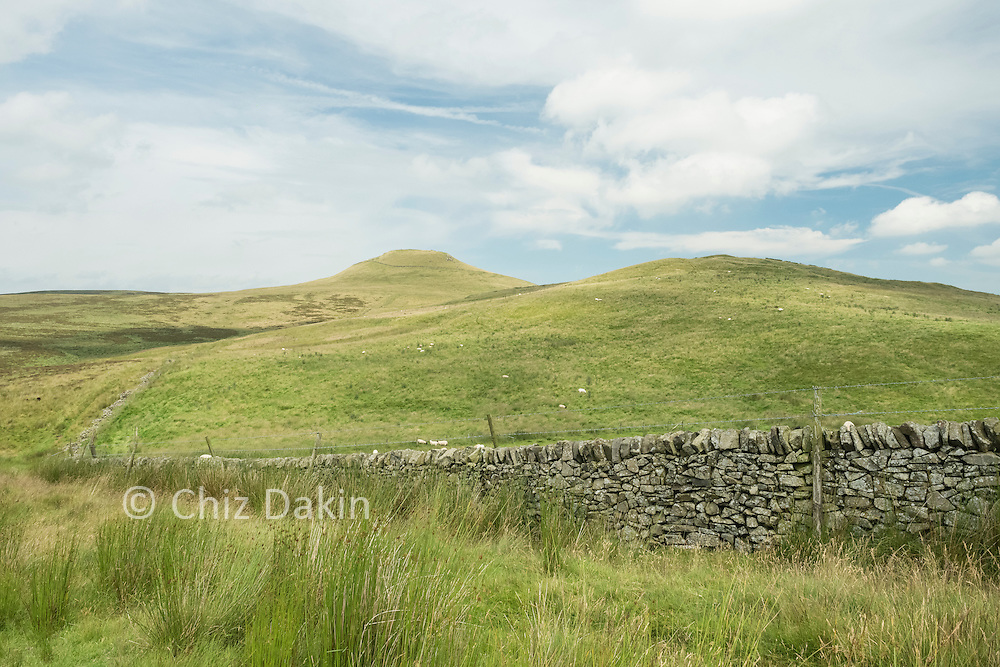 Shutlingsloe appears much more rounded when approached from Piggford Moor