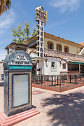 The Plaza Theatre Downtown Palm Springs on Palm Canyon Drive