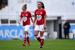 Laura Rafferty of Bristol City Women - Mandatory by-line: Ryan Hiscott/JMP - 18/10/2020 - FOOTBALL - Twerton Park - Bath, England - Bristol City Women v Birmingham City Women - Barclays FA Women's Super League