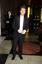 CHRISTOPHER BAILEY Design Director of Burberry at the 2004 British Fashion Awards held at Thhe V&A museum, London on 2nd November 2004.<br />