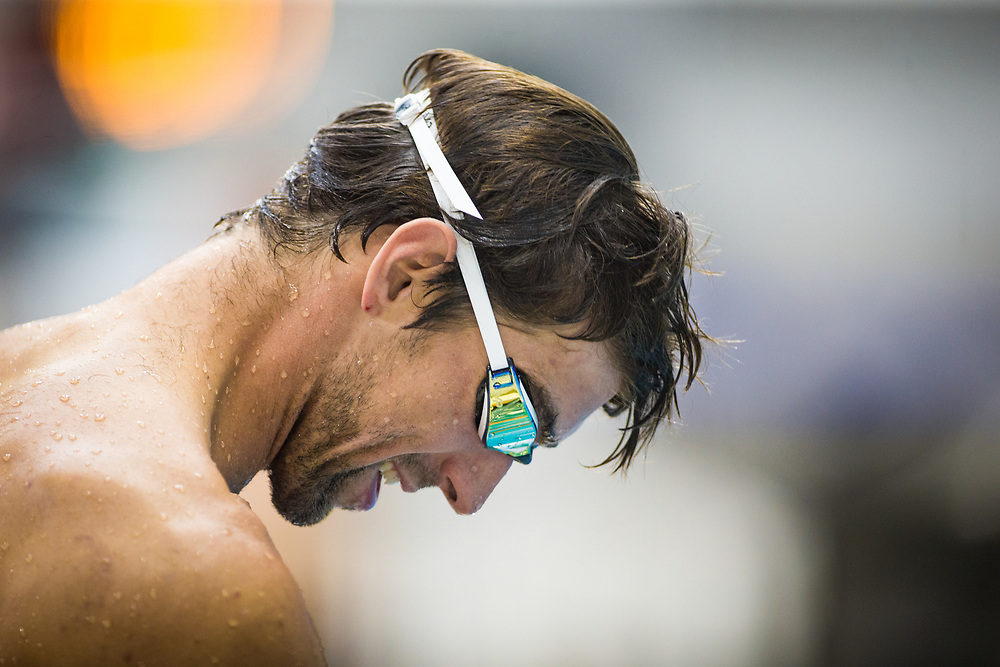 Michael Phelps. Longhorn Aquatic Elite Invite, June 3-4, Lee & Joe Jamail Texas Swimming Center, Austin, Texas (Darren Carroll for ESPN)