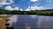 We paid a visit to the solar energy plant on the island. The entire island runs off the electricity generated from this plant, which is pretty incredible.