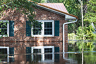 Huricane Florence's flooded home in Conway, South Carolina.