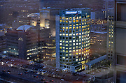 Nederland, Amsterdam, 28-11-2015Zuidas en rondweg a10. Gebouw, hoofdkantoor, headquarters, kantoor Akzo Nobel, hoofdkantoor akzo-nobel, akzonobel .Foto: Flip Franssen