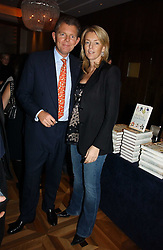 BERNARD & FIONA DREESMAN at a party to celebrate the publication of 'Dancing into Waterloo' by Nick Foulkes held at The Westbury Hotel, Conduit Street, London on 14th December 2006.<br />