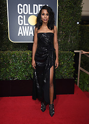 Gaten Matarazzo at the 75th Annual Golden Globe Awards held at the Beverly Hilton Hotel on January 7, 2018 in Beverly Hills, CA ©Tammie Arroyo-GG18/AFF-USA.com. 07 Jan 2018 Pictured: Kerry Washington. Photo credit: MEGA TheMegaAgency.com +1 888 505 6342