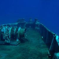 Bow, USS Kittiwake