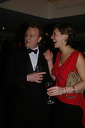 David Stephens ( chairman of Ball)  and Miss Victoria Scott. White Knights Ball, Grosvenor House Hotel 7 January 2005. ONE TIME USE ONLY - DO NOT ARCHIVE  © Copyright Photograph by Dafydd Jones 66 Stockwell Park Rd. London SW9 0DA Tel 020 7733 0108 www.dafjones.com