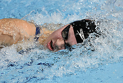 August 5, 2018 - Glasgow, UNITED KINGDOM - Belgian swimmer Lotte Goris pictured in action during the semi-finals of the women's 200m Freestyle event at the European Championships, in Glasgow, Scotland, Sunday 05 August 2018. European championships of several sports are held in Glasgow from 03 to 12 August...BELGA PHOTO ERIC LALMAND (Credit Image: © Eric Lalmand/Belga via ZUMA Press)