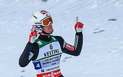 21.01.2018, Heini Klopfer Skiflugschanze, Oberstdorf, GER, FIS Skiflug Weltmeisterschaft, Teambewerb, im Bild Daniel Andre Tande (NOR) // Daniel Andre Tande of Norway during Team competition of the FIS Ski Flying World Championships at the Heini-Klopfer Skiflying Hill in Oberstdorf, Germany on 2018/01/21. EXPA Pictures © 2018, PhotoCredit: EXPA/ JFK