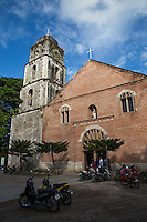 San Agustin Church, Bacong was built in the 19th century by Augustinian Recollects. It is renowned for its finely cut stonework in the belltower.   San Agustin Church, Bacong has the tallest belfry in Negros Oriental.  Its pipe organ was imported from Zaragoza, Spain in 1898 just before the revolution against Spain broke out in Oriental Negros.  San Agustin Bacong is one of the 26 colonial churches in the Philippines selected for restoration by the National Commission for Culture and the Arts.