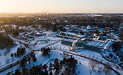 Drone Photography of Como Park in , on Tuesday, Dec. 10, 2019.