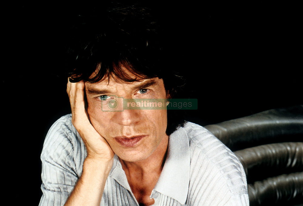 Mick Jagger of The Rolling stones. Circa 1995