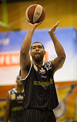 17.05.2015, Walfersamhalle, Kapfenberg, AUT, ABL, ece Bulls Kapfenberg vs magnofit Guessing Knights, 3. Semifinale, im Bild Marcus Heard (Guessing) // during the Austrian Basketball League, 3th semifinal, between ece Bulls Kapfenberg and magnofit Guessing Knights at the Sportscenter Walfersam, Kapfenberg, Austria o00000n 2015/05/17, EXPA Pictures © 2015, PhotoCredit: EXPA/ Dominik Angerer