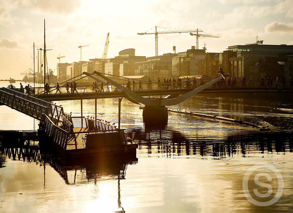 Photographer: Paul Lindsay, Sean O'Casey Bridge, Dublin