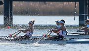 Brandenburg. GERMANY. GBR LW2X, Bow Charlotte TAYLOR and Kat COPELAND. <br /> 2016 European Rowing Championships at the Regattastrecke Beetzsee<br /> <br /> Sunday  08/05/2016<br /> <br /> [Mandatory Credit; Peter SPURRIER/Intersport-images]
