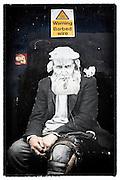 Street art (paste-up) by unknown artist, Shoreditch, East London http://www.vivecakohphotography.co.uk/2011/04/13/more-east-london-street-art/
