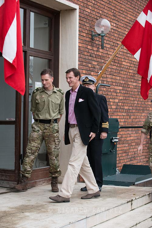 26.10.12017. Copenhagen, Denmark.  <br /> Prince Joachim's arrival at the Danish Defence Centre for Military Physical Training in Copenhagen.<br /> Photo: © Ricardo Ramirez