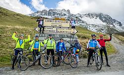 16-09-2017 FRA: BvdGF Tour du Mont Blanc day 7, Beaufort<br /> De laatste etappe waar we starten eindigen we ook weer na een prachtige route langs de Mt. Blanc / Team Yellow