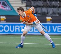 AMSTELVEEN - Tim Swaen (Bldaal) tijdens de halve finale wedstrijd mannen EURO HOCKEY LEAGUE (EHL),  HC Bloemendaal- Royal Leopold Club (Bel)(1-1) Bloemendaal wint shoot outs en plaatst zich voor de finale.  COPYRIGHT  KOEN SUYK
