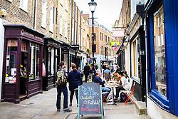 Camden Passage in Islington. London UK