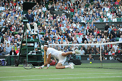 July 11, 2018 - Angleterre - Wimbledon - Juan Martin Del Potro Argentine (Credit Image: © Panoramic via ZUMA Press)