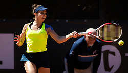 May 16, 2019 - Rome, ITALY - Mihaela Buzarnescu of Romania in action during her second-round match at the 2019 Internazionali BNL d'Italia WTA Premier 5 tennis tournament (Credit Image: © AFP7 via ZUMA Wire)