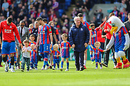 A lap of appreciation by Crystal Palace players and staff after the Premier League match between Crystal Palace and Bournemouth at Selhurst Park, London, England on 12 May 2019.