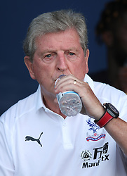 Crystal Palace manager Roy Hodgson during a pre season friendly match at The Kassam Stadium, Oxford