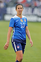 March 06 2016: USA midfielder Carli Lloyd(10) during the second half. The United States defeated France 1-0 in the SheBelieves Cup held at Nissan Stadium in Nashville, Tennessee.(photo by Charles Mitchell/Icon Sportswire) SOCCER: MAR 06 Women s - SheBelieves Cup - USA v France <br /> Norway only