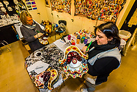Ca' Macana is the top supplier of handmade Venetian carnival masks, Venice, Italy.