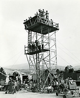 1953 Filming at Columbia Studios