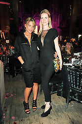 Left to right, WILLA KESWICK and CHLOE DELEVIGNE at 'Superficial Butterfly' a party hosted by Amanda Eliasch to celebrate her 50th birthday held at Number One Mayfair (St Marks Church) North Audley Street, London on 12th May 2010.
