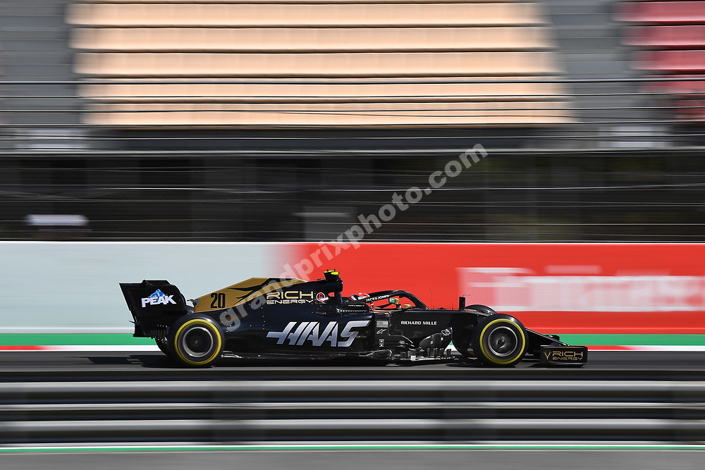 Kevin Magnussen (Haas-Ferrari) during practice for the 2019 Spanish Grand Prix at the Circuit de Barcelona-Catalunya. Photo: Grand Prix Photo