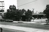1973 Alfie's Restaurant on Sunset Blvd.