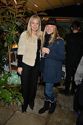 The Ivy Chelsea Garden's Guy Fawkes Party & Launch of The Winter Garden was held on 5th November 2016.<br /> Picture shows:-MARISSA MONTGOMERY and GEORGINA COHEN.