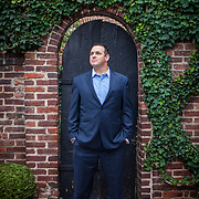 Dan Backer, of DB Capitol Strategies, near his Alexandria, VA office, on Saturday, September 12, 2015. Backer played a major role in convincing McCutcheon to file suit against the FEC that resulted in the landmark Citizens United decision. For New York Magazine