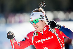 SVENDSEN Emil Hegle (NOR) competes during Men 12,5 km Pursuit at day 3 of IBU Biathlon World Cup 2014/2015 Pokljuka, on December 20, 2014 in Rudno polje, Pokljuka, Slovenia. Photo by Vid Ponikvar / Sportida