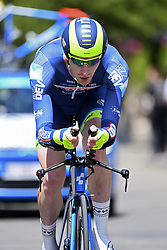 June 7, 2017 - Bourgoin Jallieu, France - BOURGOIN-JALLIEU, FRANCE - JUNE 7 : BACKAERT Frederik (BEL) Rider of Wanty - Groupe Gobert during stage 4 of the 69th edition of the Criterium du Dauphine Libere cycling race, an individual time trail of 23,5 kms between La Tour-du-Pin and Bourgoin-Jallieu on June 07, 2017 in Bourgoin-Jallieu, France, 7/06/2017 (Credit Image: © Panoramic via ZUMA Press)