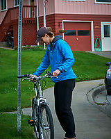 Bike in Wrangell. Image taken with a Nikon D300 camera and 70-300 mm VR lens.