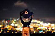 500px Photo ID: 4398446 - the coin operated viewing scope at twin peaks in san francisco