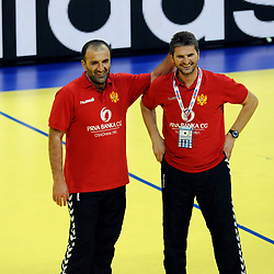 20121215: SRB, Handball - Dragan Adzic, coach of Montenegro