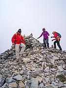 A cairn at Salkantay Pass, giving thanks for making it to this point, along the Camino Salkantay,  near Soraypampa, Peru.