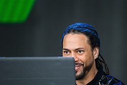 © Licensed to London News Pictures . 07/06/2015 . Manchester , UK . RONI SIZE ( Ryan Williams ) on stage at The Parklife 2015 music festival in Heaton Park , Manchester . Photo credit : Joel Goodman/LNP